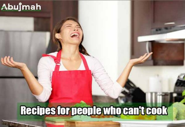 Recipes For People Who Can't Cook